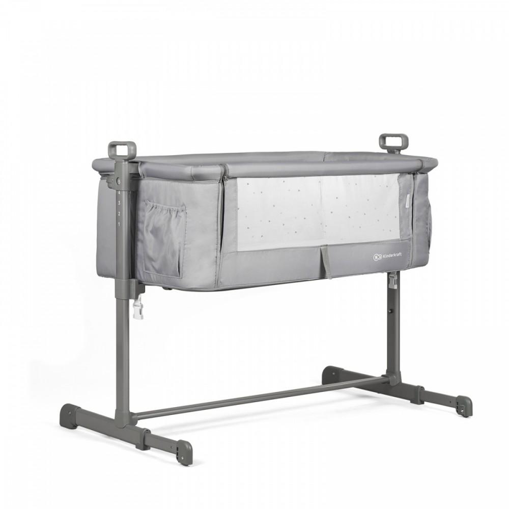 Slieeping Crib Neste Gray