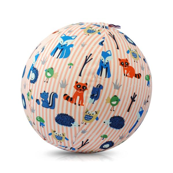 Bubabloon lateksa balons ar auduma pārvalku, Animal Stripes Pink 040390