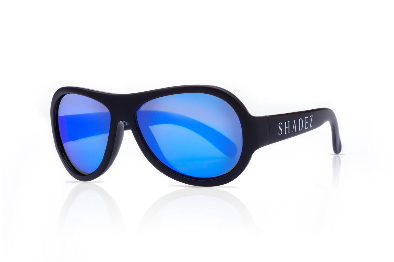 Akcija! SHADEZ Classic Black Junior bērnu saulesbrilles, 3-7 gadi SHZ 02 6554 saulesbrilles