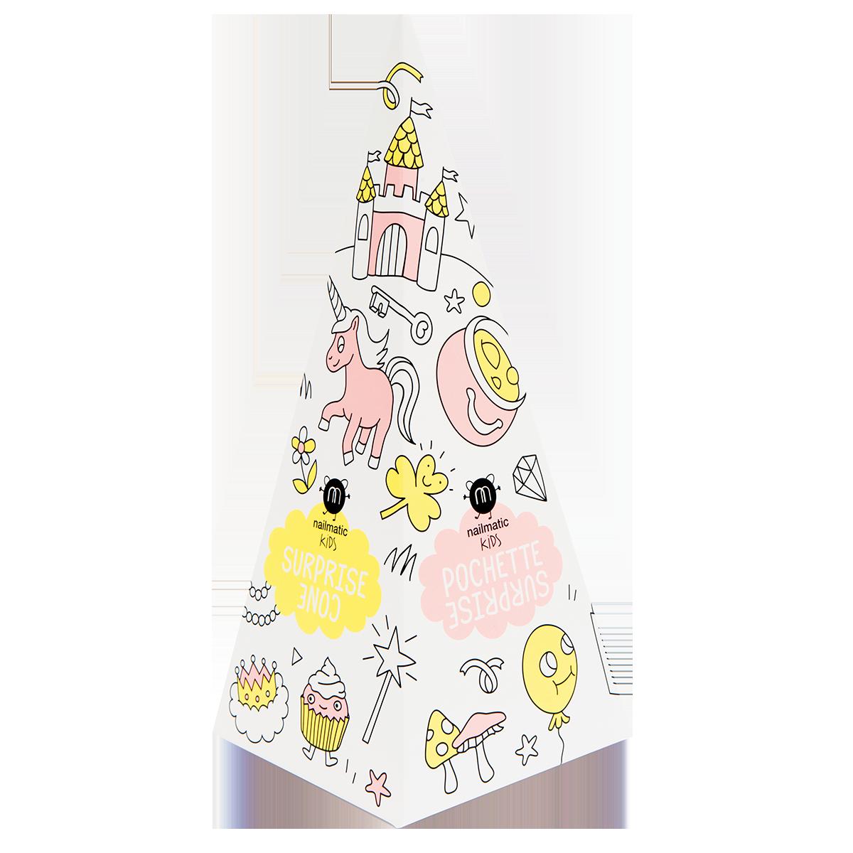 Nailmatic Kids Princess Surprise Cone dāvanu komplekts, Freezy NKPRINCESS
