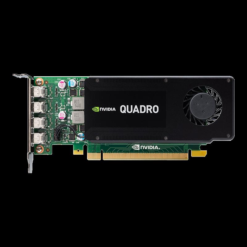 PNY NVIDIA Quadro K1200 DP, 4GB GDDR5 (128 Bit), 4xminiDP (4xminiDP to DP), LP video karte