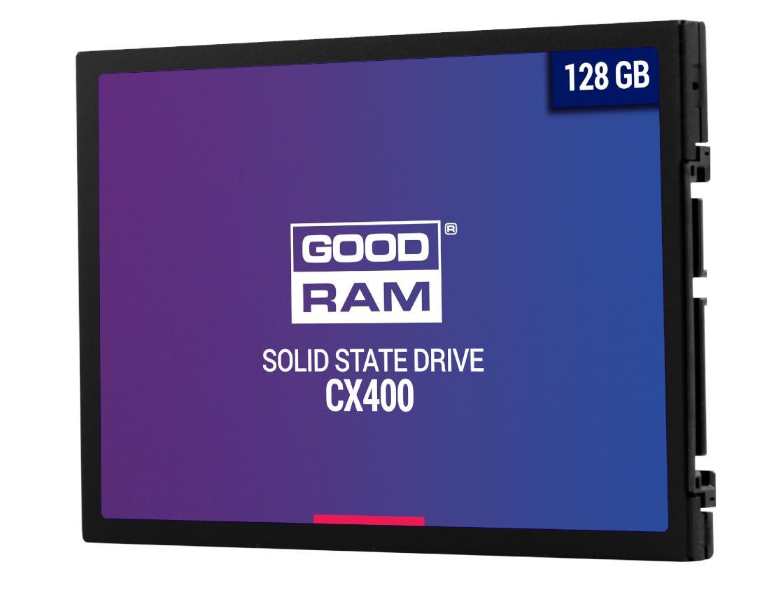 GOODRAM SSD CX400 128GB 2.5'' SATA3, 550/450 MB/s SSD disks