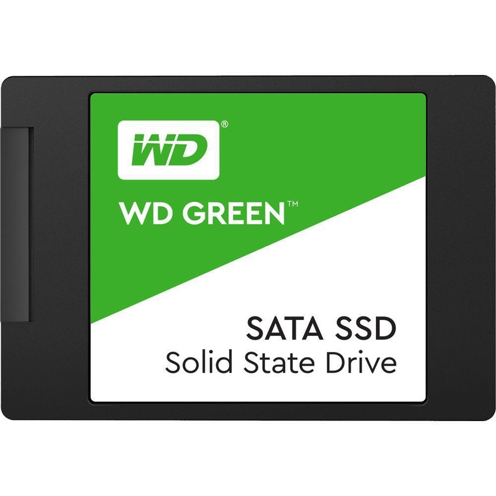 WESTERN DIGITAL 480GB GREEN SSD 2.5 IN 7MM SATA III 6GB/S SSD disks