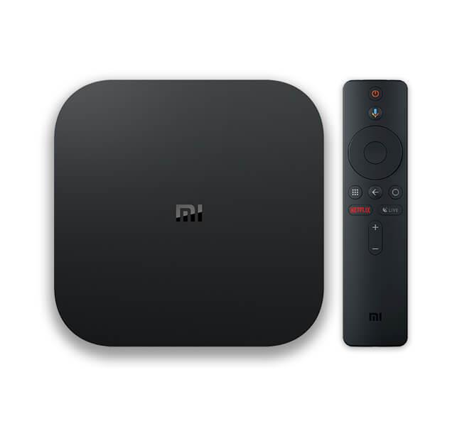 Xiaomi Smart TV MI BOX S 4K Black (MDZ-22-AB) multimēdiju atskaņotājs