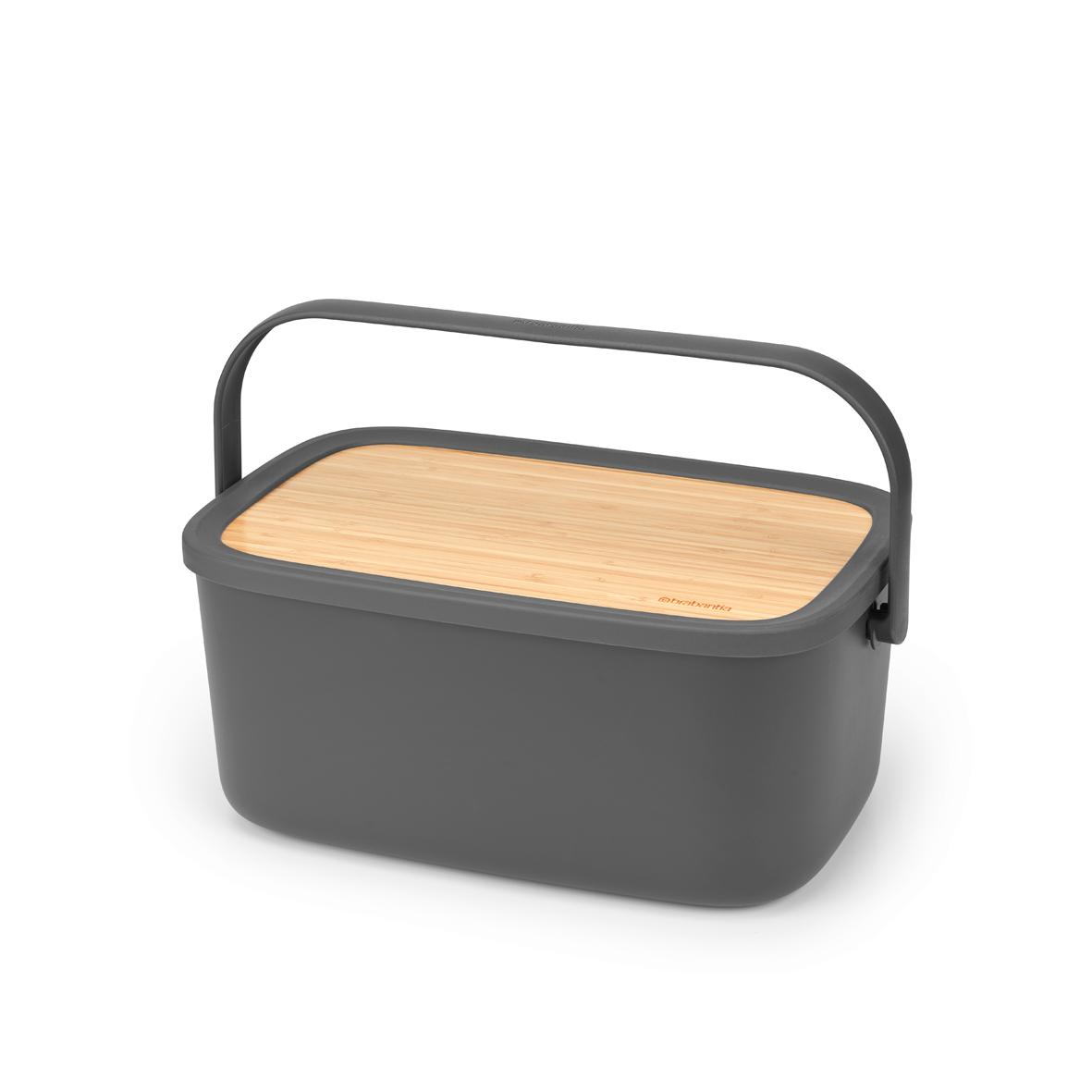 BRABANTIA maizes kaste, Dark Grey 128264 Pārtikas uzglabāšanas piederumi