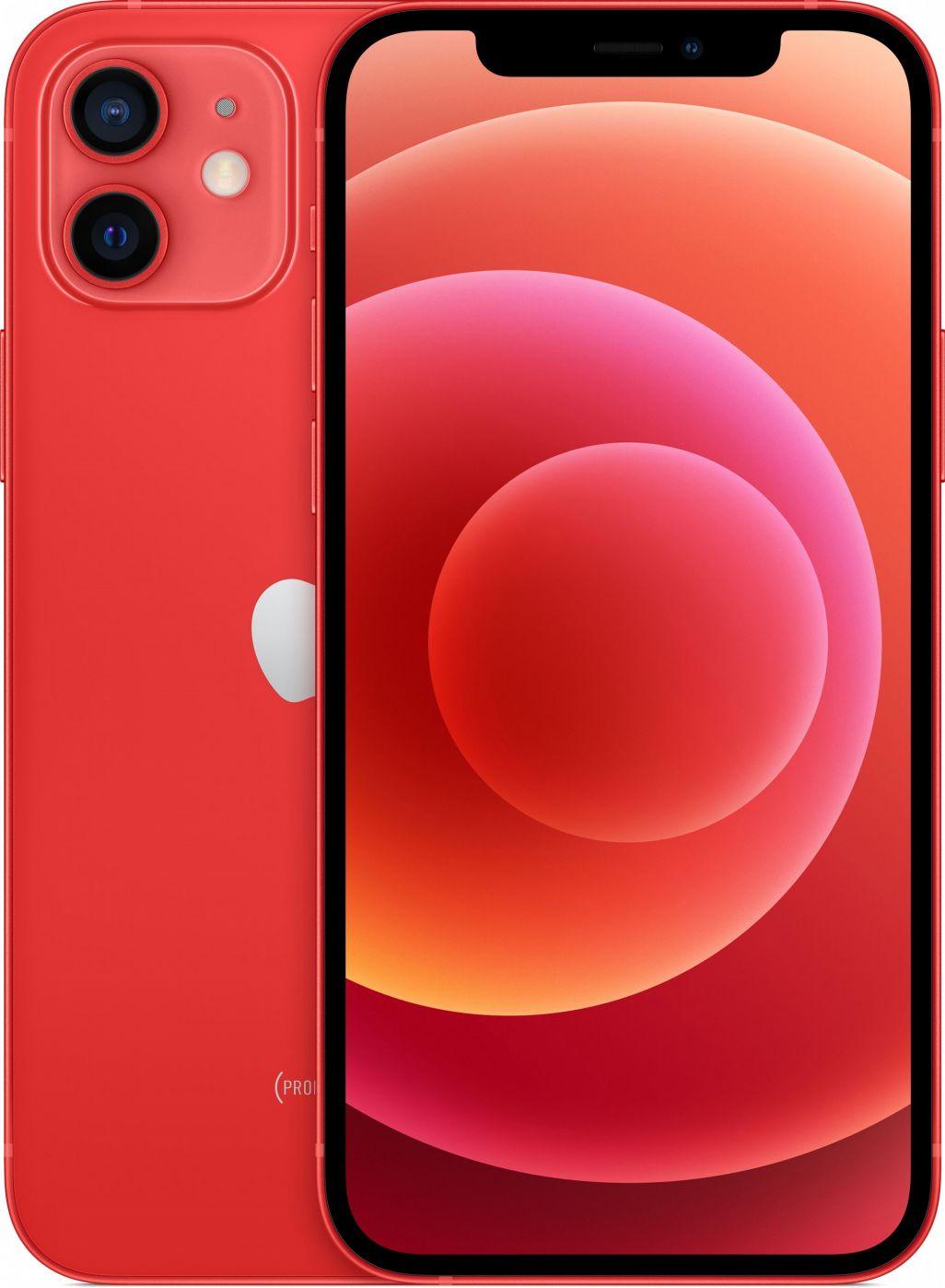 Apple iPhone 12 Mini 128GB Red Mobilais Telefons