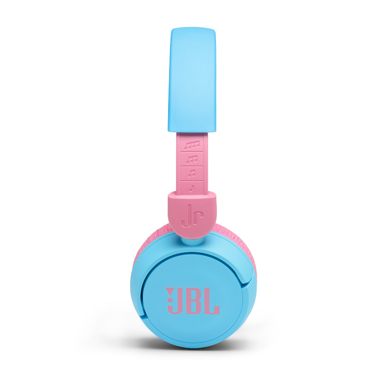 JBL on-ear austiņas ar Bluetooth bērniem, zilas JBLJR310BT austiņas