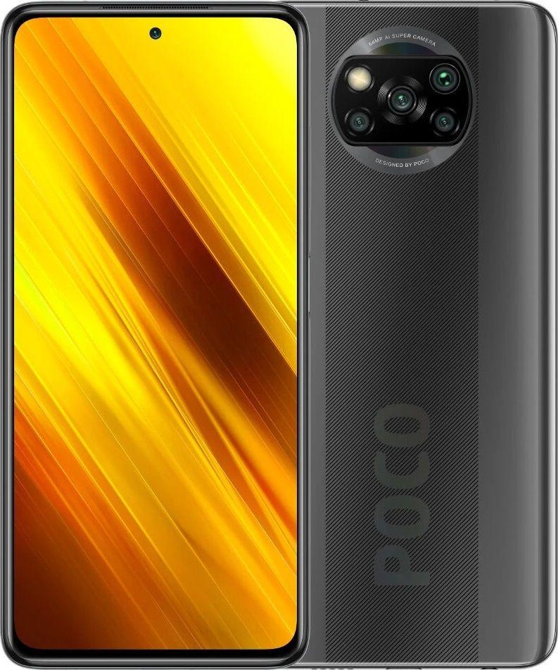 Xiaomi Poco X3 NFC 6GB/128GB Grey Mobilais Telefons
