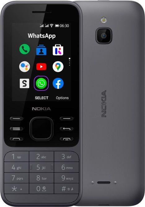 Nokia  6300 4G DS TA-1286 Charcoal 16LIOB01A05 Mobilais Telefons