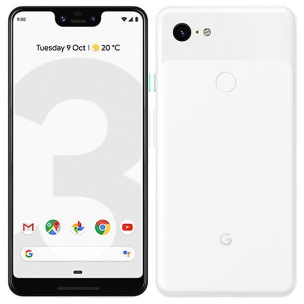 Google Pixel 3 128GB White Mobilais Telefons