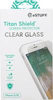 eSTUFF Apple iPhone 5/5C/5S/SE Clear Titan Shield Screen Protector  5711783794967 aizsardzība ekrānam mobilajiem telefoniem