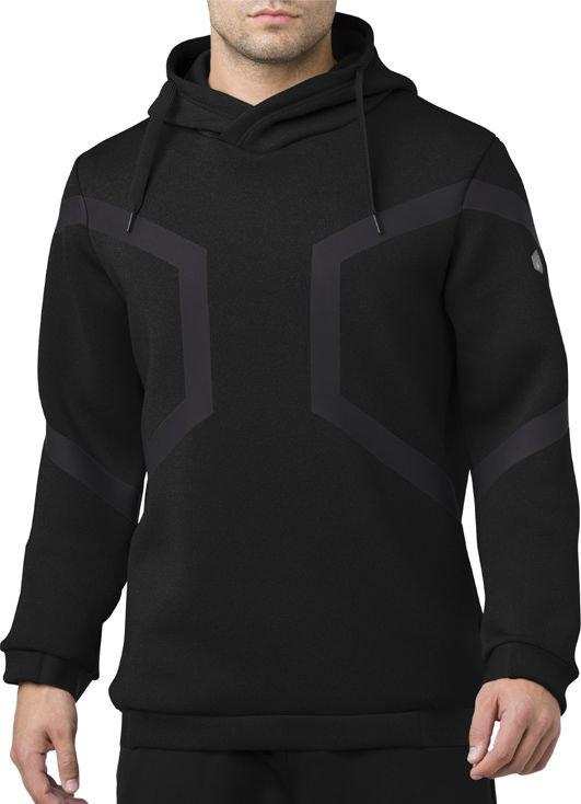 Asics Men's Hexagon Po Hoodie black s.L (153343-0904)