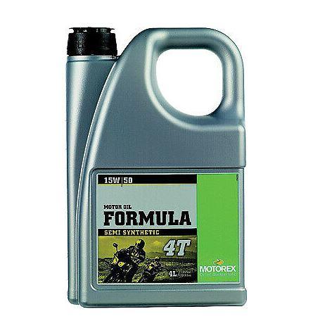 Motorex Formula 4T 15W/50 4L motoreļļa