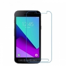 Tempered Glass Gold Aizsargstikls ekrānam Samsung G390F Galaxy XCover 4 aizsardzība ekrānam mobilajiem telefoniem