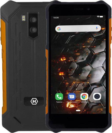 Smartfon myPhone Iron 3 32 GB Dual SIM Czarno-pomaranczowy  (Iron 3 LTE) Iron 3 LTE Mobilais Telefons