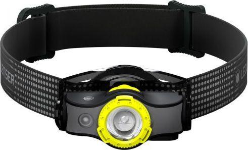 Ledlenser head torch MH5, LED light (black / yellow) 502144 kabatas lukturis