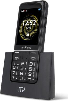 Telefon komorkowy myPhone Halo Q HALO Q Black Mobilais Telefons