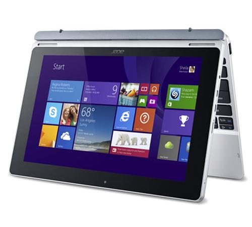 Acer ASPIRE SW5-012 Tablet (Silver) Planšetdators