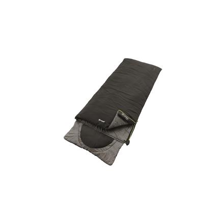Outwell Contour Midnight Black, Sleeping bag, 225x90 cm, 7/2/-13 °C 5709388082114 guļammaiss