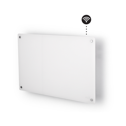 Mill Glass AV600WIFI WiFi Panel Heater, 600 W, Suitable for rooms up to 11 m², Number of fins Inapplicable, White