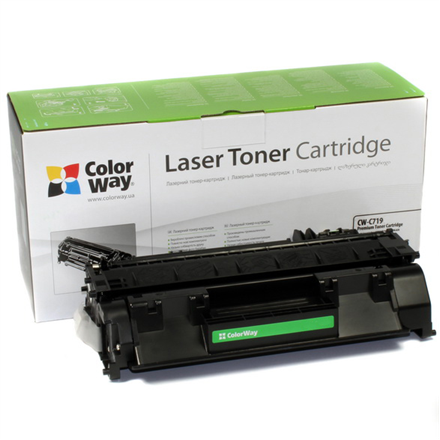 ColorWay Econom Toner Cartridge, Black, Canon: 719/319, HP CE505A