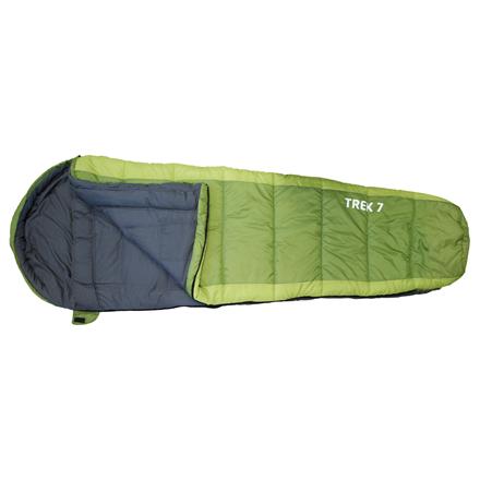 FRENDO Trek 7, Sleeping bag, 215x80(55) cm, +7/-3/-12 °C, Left side zipper 301302 guļammaiss