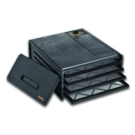 Excalibur Food Dehydrator 4400 Power 220 W, Number of trays 4, Temperature control, Black Augļu žāvētājs
