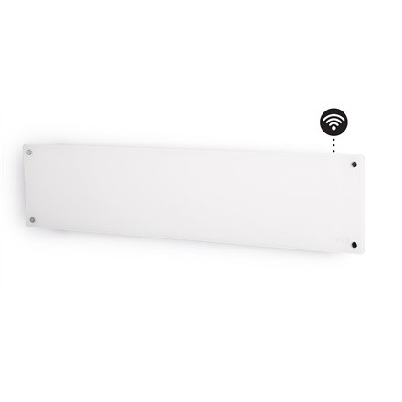 Mill Glass AV800LWIFI WiFi Panel Heater, 800 W, Suitable for rooms up to 14 m², Number of fins Inapplicable, White 7090019821966