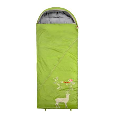 Gruezi-Bag Cloud Decke Deluxe, Sleeping bag, 225x80 cm,  +4/-1/-17 °C, Right side 8451 guļammaiss