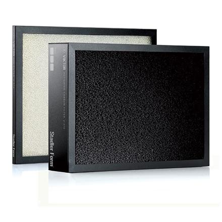 Stadler form V010 Filters set for VIKTOR, Black/ white 802322002126 Klimata iekārta