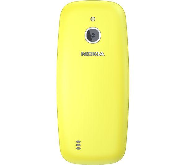 Nokia 3310 Yellow ENG Mobilais Telefons