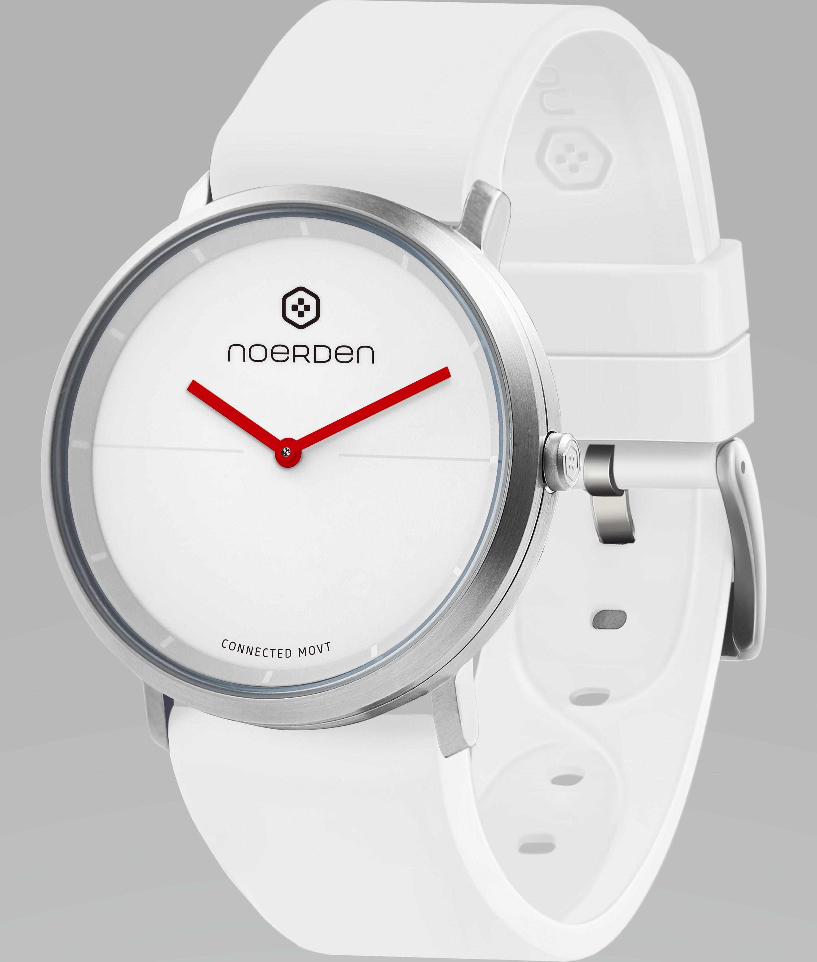 NOERDEN LIFE2 WHITE + dāvanā papildus siksniņa Viedais pulkstenis, smartwatch