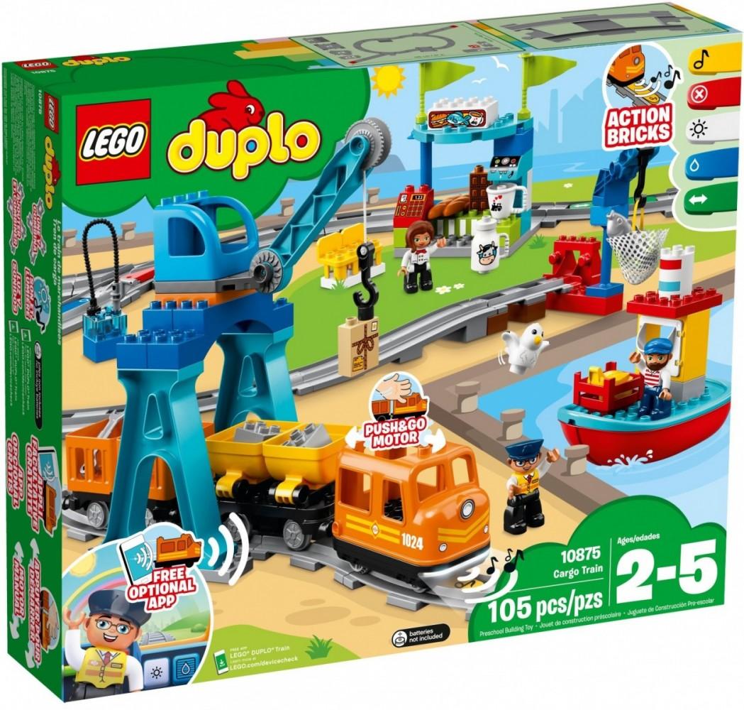 LEGO DUPLO Freight Train - 10875 LEGO konstruktors