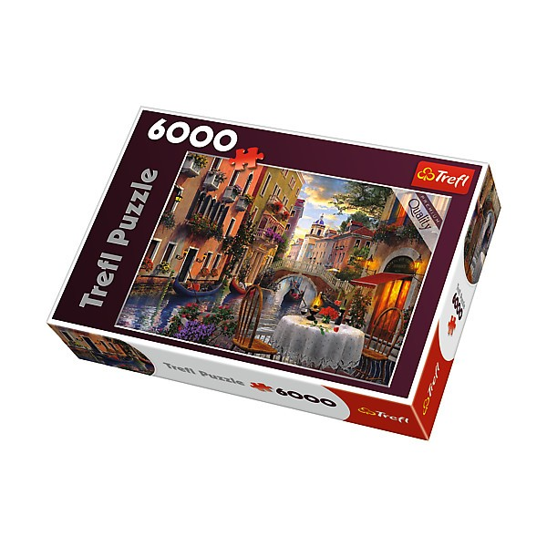 Trefl Puzzle, 6000 elements - Romantic dinner (PT-65003) puzle, puzzle