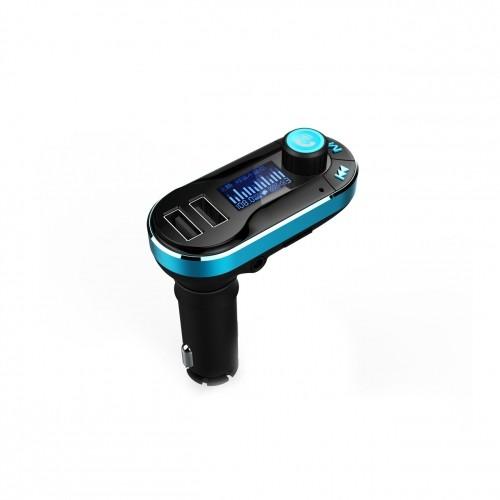 ART CAR TRANSMITER FM MP3 display 1.4'' with BT, remote control USB/SD FM-05BT MP3 atskaņotājs