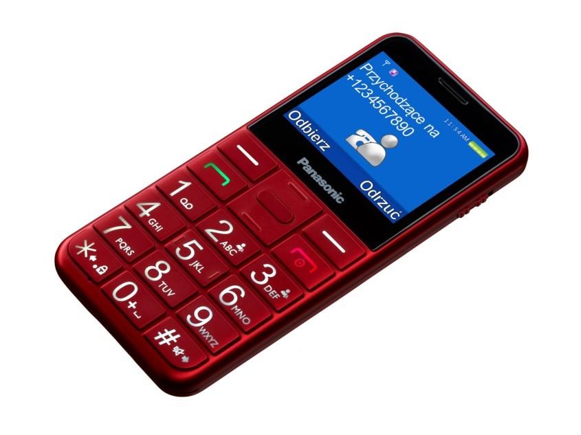 "Panasonic KX-TU150 ( 2,4"" ; Red ) Mobilais Telefons"