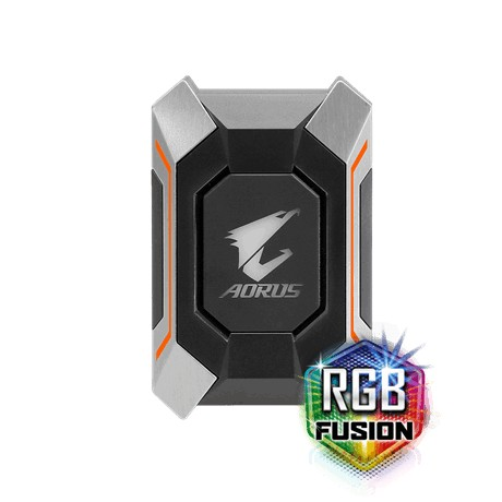 AORUS SLI HB bridge RGB GC-A2WAYSLI Bridge support GTX 1070/1080/1080 Ti video karte