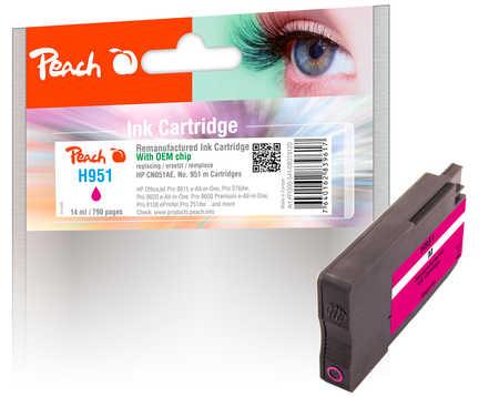 Peach HP NR.951 CN051AE      magenta         Comp. kārtridžs