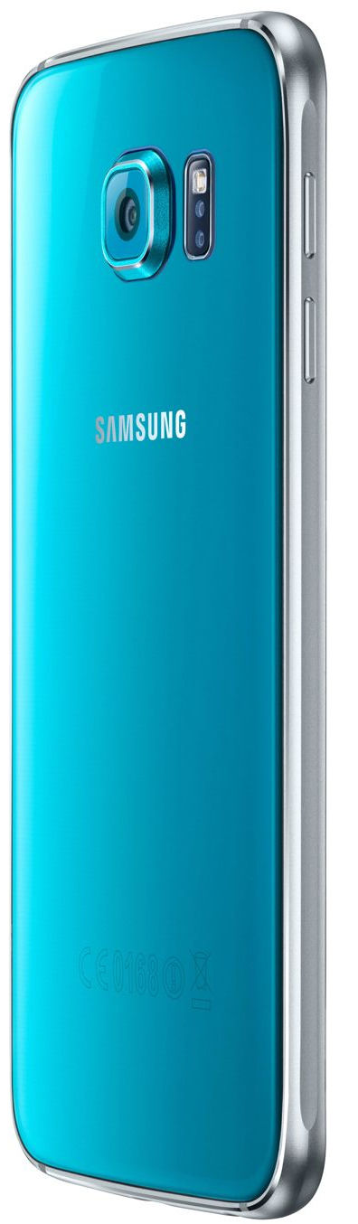 Samsung G920FD Galaxy S6 Duos blue 32gb USED bez 3,4G tikai 2G 9902941028444 T-MLX24712 Mobilais Telefons