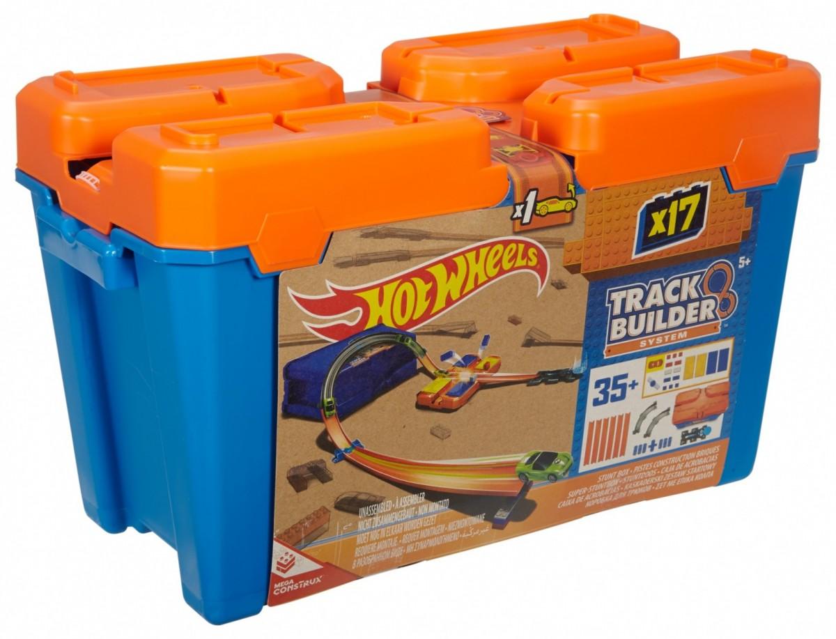 Hot Wheels Track Builder Superstunt Box