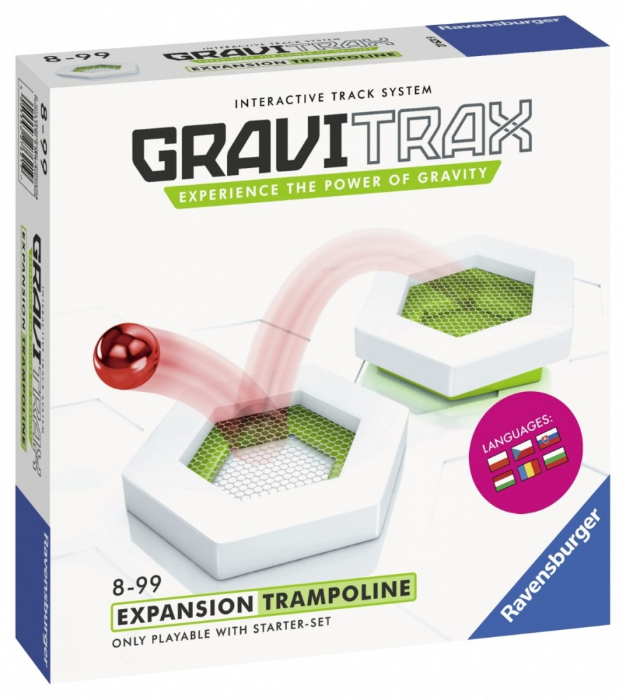 RAVENSBURGER Construction kit Gravitrax Expansion Trampoline konstruktors
