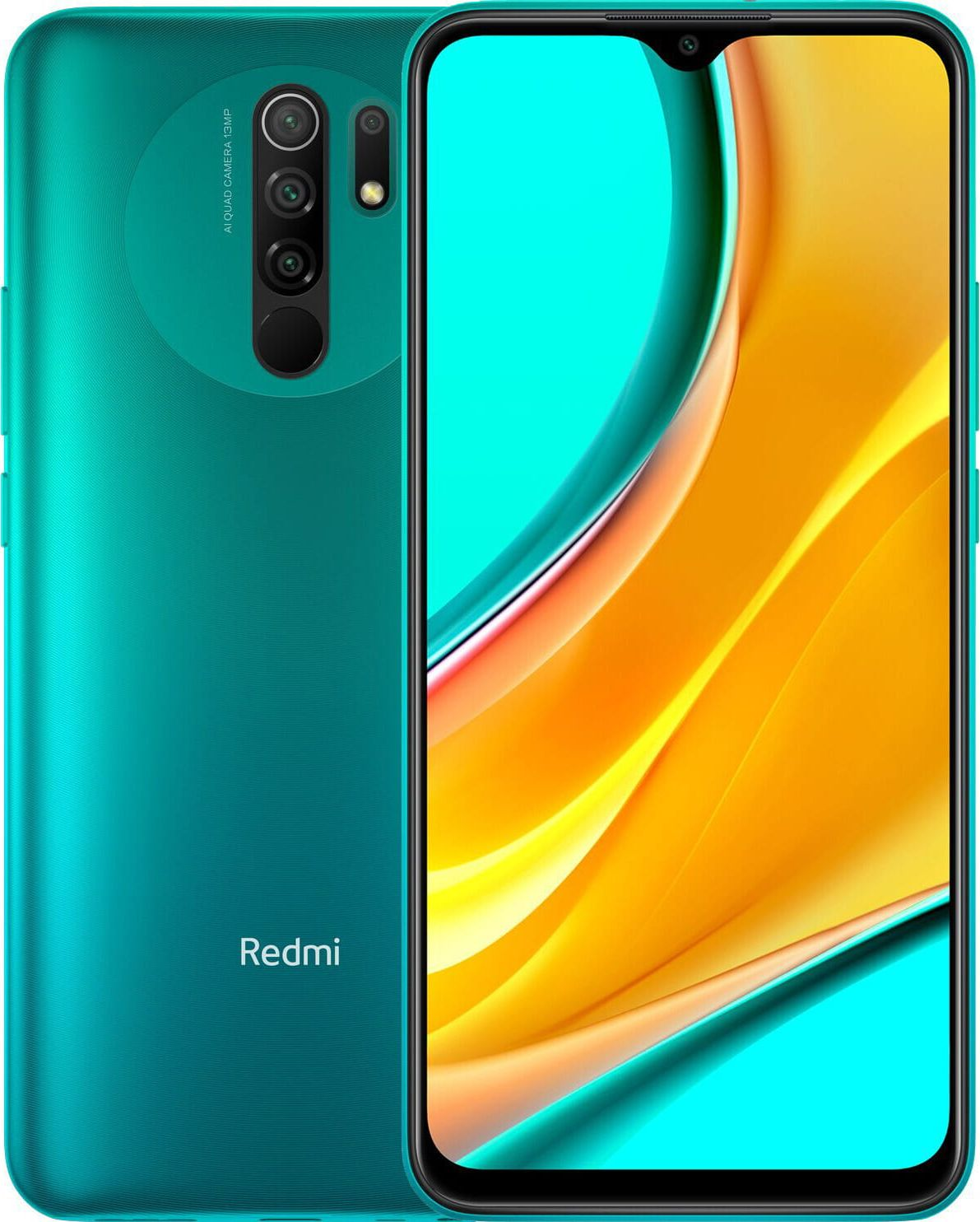 Xiaomi Redmi 9 4GB/64GB Ocean Green Mobilais Telefons