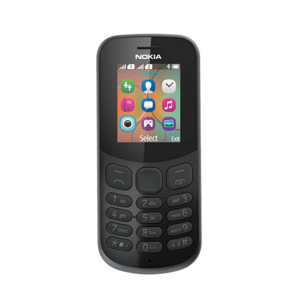 Nokia 130 Dual SIM  2017 black Mobilais Telefons