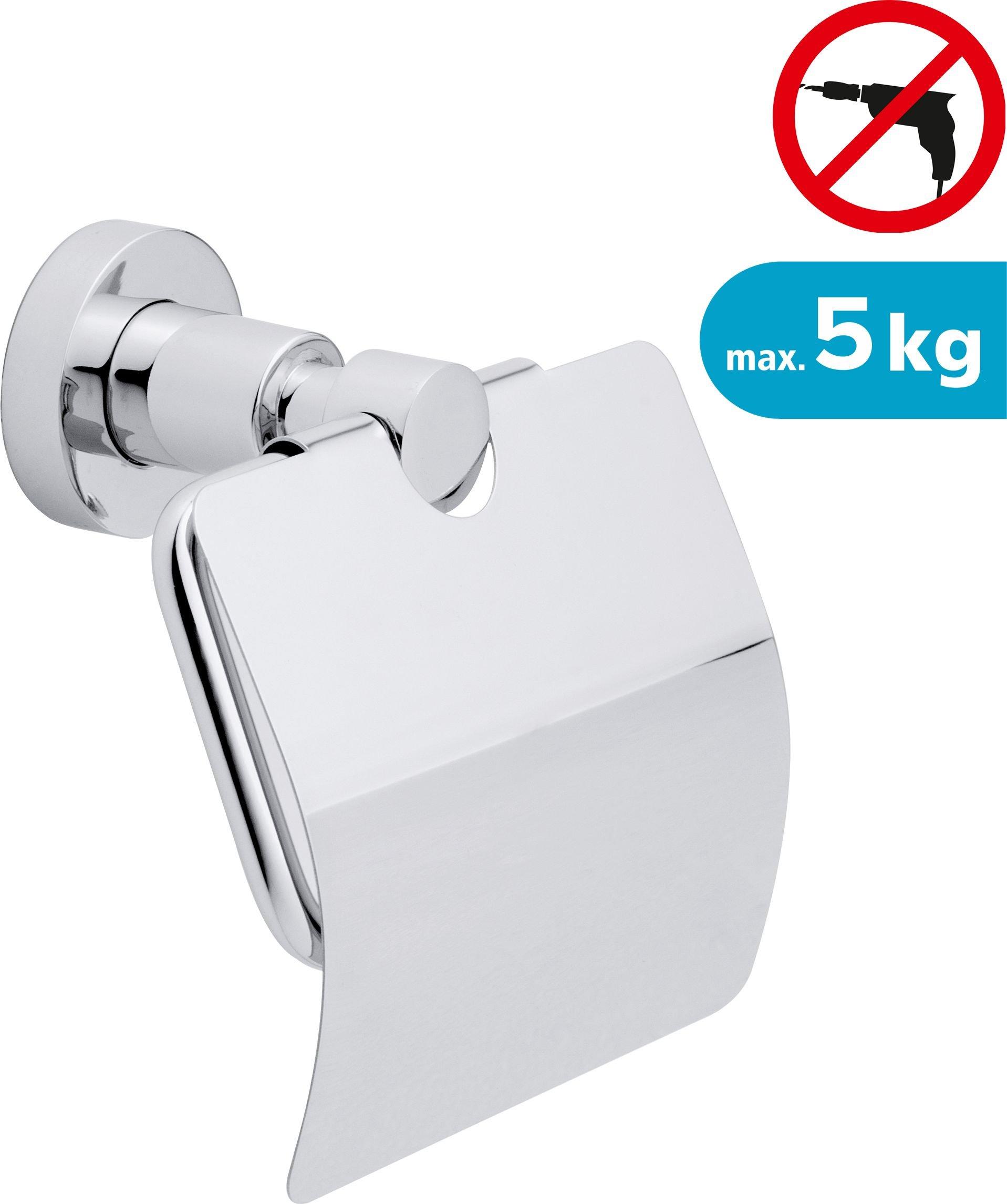 Tesa Toilet paper holder suction cup chrome (40273-00000-00) Vannas istabas piederumi