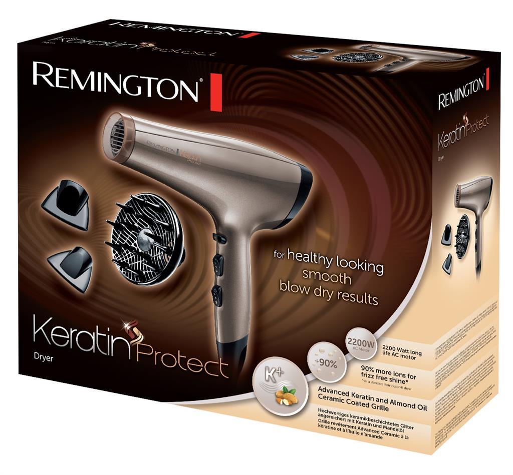 Remington AC8002 Keratin Protect Hair Dryer Matu fēns