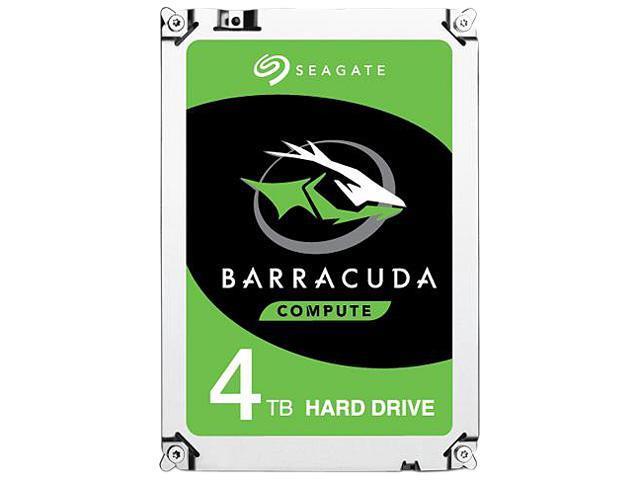 Seagate Barracuda ST4000DM004 (4 TB ; 3.5 Inch; SATA III; 256 MB; 5400 rpm) cietais disks