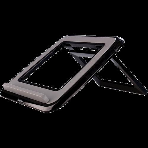 Fellowes I-Spire Series Laptop Quick Lift black portatīvā datora dzesētājs, paliknis