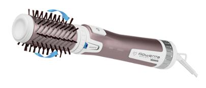 Rowenta Brush Active CF 9540 white / metallic braun Matu veidotājs