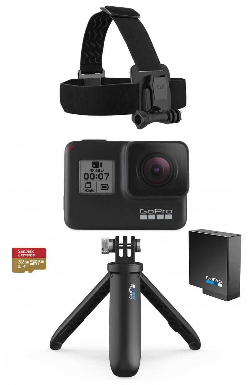 GoPro Hero8 Black Holiday Bundle 2019 818279024258 sporta kamera