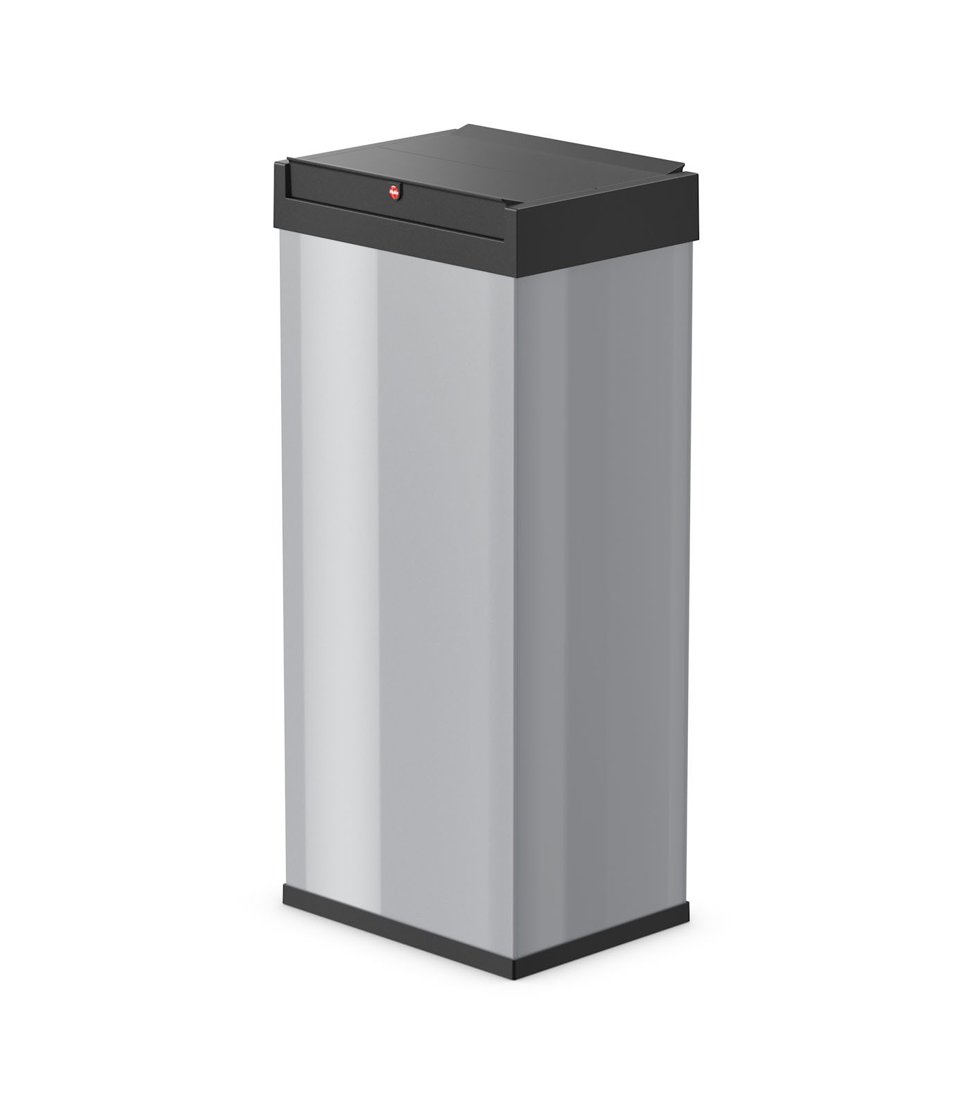 HAILO Atkritumu tvertne Big-Box Swing XL / 52L / sudraba krasa 030860221 atkritumu tvertne